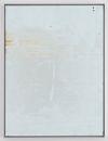 Hans-Christian Lotz, Untitled, 2009. Paint on metal, aluminium framing. 54 x 40 cm