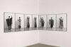 Lina Viste Grønli. Phil Collins in Eurythmics (detail), 2012. 11 archival inkjet prints, framed in black aluminium. 100 x 67.50 cm
