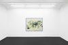 Julia Haller. Untitled, 2017. Mixed media on canvas. 155 x 200 cm. Meyer Kainer, Vienna