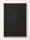 Julia Haller. Untitled, 2014. Bone glue, chalk, ferric oxide, gesso on linen, laser engraving on glass, oakframe. 57 x 39 cm. Passion, 2014. Christian Andersen, Copenhagen