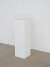 Dexter Sinister. Vanity Acid Blotter, 2012. Blotting paper and plinth. 113,5 x 30 x 30 cm. Hard Words, 2014. Christian Andersen, Copenhagen