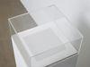 Dexter Sinister. Vanity Acid Blotter, 2012 (detail). Blotting paper and plinth. 113,5 x 30 x 30 cm. Hard Words, 2014. Christian Andersen, Copenhagen