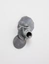 Benjamin Hirte. oO, 2014. Aluminum and steel. 16 x 10,5 x 5,5 cm. Winter, 2014. Christian Andersen, Copenhagen