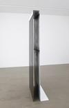 Benjamin Hirte. Untitled, 2014. Steel and lacquer. 207 x 75 x 36 cm. Winter, 2014. Christian Andersen, Copenhagen