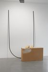 Installation view. Julia Haller and Saskia Te Nicklin, 2012. Christian Andersen, Copenhagen