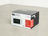 Andreas Clausen. Aurora, 2013. Microwave oven in cardboard box. 29 x 49,5 x 38,5 cm. Just ask the lonely, 2013. Christian Andersen, Copenhagen