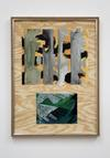 Tom Humphreys. Untitled, 2011. Gouache, watercolour and pastel on paper mounted on board in artists frame (wood, aluminium, glass, screws). 107 x 79 cm. Straight Man's Camp, 2012. Christian Andersen, Copenhagen