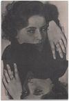 Arild Tveito. Greta Garbo, 2013. Anapurna UV-curable ink, bone glue and diamond powder on linen. 64 x 44 cm. Simon Ling, Thea Moeller, Arild Tveito. Oil on canvas, 2013. Christian Andersen, Copenhagen