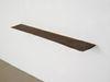 Pind. Shelf, 2013. Smoked oak, brass. 4,5 x 30 x 160 cm. Campari, 2013. Christian Andersen, Copenhagen