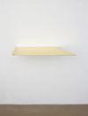 Pind. Shelf, 2013. Brass. 4 x 35 x 70 cm. Campari, 2013. Christian Andersen, Copenhagen