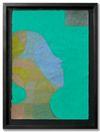 Benjamin Bernt. Untitled, 2013. Acrylic, crayon, wax crayon and oil pastel on paper. 29,6 x 20,8 cm. Bernjamin Bernt & Julian Fickler. Against the Moon, 2013. Christian Andersen, Copenhagen