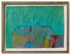 Benjamin Bernt. Untitled, 2013. Acrylic, crayon, wax crayon and oil pastel on paper. 28,2 x 20,7 cm. Bernjamin Bernt & Julian Fickler. Against the Moon, 2013. Christian Andersen, Copenhagen