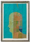 Benjamin Bernt. Untitled, 2013. Acrylic, crayon, wax crayon and oil pastel on paper. 29 x 19,5 cm. Bernjamin Bernt & Julian Fickler. Against the Moon, 2013. Christian Andersen, Copenhagen
