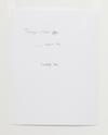 Lasse Schmidt Hansen. Untitled text (like notes), 2012 (detail). Mixed media. 184 x 245 cm. Lasse Schmidt Hansen, 2012. Christian Andersen, Copenhagen