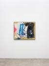 Julia Haller. Untitled, 2020. Acrylic and direct print on rubberised fabric, artist's frame. 93.1 cm x 114.3 cm