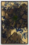 Julia Haller. Untitled, 2020. Acrylic and direct print on rubberised fabric, artist's frame. 61.4 cm x 38.1 cm