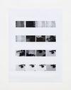 Camera Settings – Test print, page 1, 2020. Archival inkjet print. 122.50 x 88.50 cm
