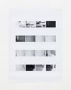 Camera Settings – Test print, page 2, 2020. Archival inkjet print. 122.50 x 88.50 cm