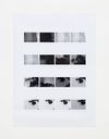 Lasse Schmidt Hansen. Camera Settings – Test print, page 1, 2020. Archival inkjet print. 122.5 x 88.5 cm. Frieze Viewing Room, London. Christian Andersen, Copenhagen, 2020.