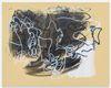 Julia Haller. Untitled, 2019. Acrylic and lacquer on rubberized fabric. 115 x 91 cm. Art Basel Hong Kong, 2019. Christian Andersen, Copenhagen