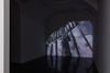 Benjamin Hirte. First Houses, 2020. Video projection, beamer. 27:00 min. First Houses, 2020. Galerie Emanuel Layr, Vienna