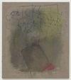 Julia Haller. Untitled, 2013. Boneglue, gouache, watercolor, textile colour, acrylic ink on linen. 60 x 53 cm. Artissima, Turin, 2013. Christian Andersen, Copenhagen