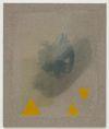 Julia Haller. Untitled, 2013. Boneglue, gouache, watercolor, textile colour on linen. 63 x 53. Artissima, Turin, 2013. Christian Andersen, Copenhagen