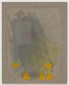 Julia Haller. Untitled, 2013. Boneglue, gouache, watercolor, textile colour, acrylic ink on linen. 70 x 56 cm. Artissima, Turin, 2013. Christian Andersen, Copenhagen