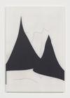 Julia Haller. Untitled, 2016. Graphite, acrylic, varnish on mineral composite board. 69,5 x 47,7 cm. Frieze Frame, New York, 2016. Christian Andersen, Copenhagen