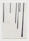 Julia Haller. Untitled, 2016. Graphite, acrylic, varnish on mineral composite board. 69,3 x 47,7 cm. Frieze Frame, New York, 2016. Christian Andersen, Copenhagen