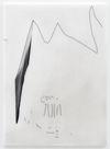 Julia Haller. Untitled, 2018. Graphite, acrylic, varnish on mineral composite board. 60 x 43 cm. Liste, Basel, 2018. Christian Andersen, Copenhagen