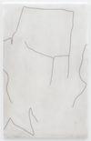 Julia Haller. Untitled, 2018. Graphite, acrylic, varnish on mineral composite board. 70,7 x 44,8 cm. Liste, Basel, 2018. Christian Andersen, Copenhagen