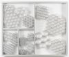 Hans-Christian Lotz. Untitled, 2018. Aluminium, silicone, acrylic glass. 98,5 x 81,5 x 6 cm. Liste, Basel, 2018. Christian Andersen, Copenhagen