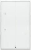 Hans-Christian Lotz. Rain over Water, 2012. Printed circuit board, RFID-tag, tape, glass, aluminium, plastics. 163 x 98,5 x 3,5 cm. Liste, Basel, 2018. Christian Andersen, Copenhagen