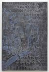 Morten Skrøder Lund. Untitled, 2018. Aluminium and gesso on canvas. 90 x 60 cm. Liste, Basel, 2018. Christian Andersen, Copenhagen