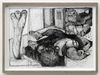 Till Megerle. Untitled, 2016. Ink and pencil on paper. 24,3 x 33 cm. Liste, Basel, 2018. Christian Andersen, Copenhagen