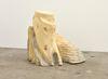 Rolf Nowotny. dementia (mildew exteriors), 2019 (alternative view). Polyurethane, polyester, cement, twigs, and dried flowers. 50 x 40 x 40 cm. Frieze Focus, London, 2019. Christian Andersen, Copenhagen