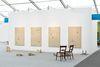 Installation view. Rolf Nowotny. Frieze Focus, London, 2019. Christian Andersen, Copenhagen