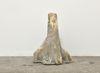 Rolf Nowotny. dementia (mildew exteriors), 2019. Polyurethane, polyester, cement, twigs, and dried flowers. 20 x 14 x 14 cm. Frieze Focus, London, 2019. Christian Andersen, Copenhagen