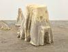 Rolf Nowotny. dementia (mildew exteriors), 2019. Polyurethane, polyester, cement, twigs, and dried flowers. 40 x 40 x 30 cm. Frieze Focus, London, 2019. Christian Andersen, Copenhagen