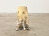 Rolf Nowotny. dementia (mildew exteriors), 2019. Polyurethane, polyester, cement, twigs, and dried flowers. 25 x 10 x 10 cm. Frieze Focus, London, 2019. Christian Andersen, Copenhagen