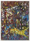 Morten Skrøder Lund. Untitled, 2018. Oil and lacquer on canvas. 95 x 70 cm