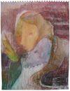 Benjamin Bernt. Untitled, 2009. Acrylic, crayon, tempera on paper. 29,7 x 21 cm. Oblatis Zero, 2011. Christian Andersen, Copenhagen