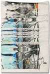 Alex Dordoy. I have taught myself not to think, 2012. Toner and oil on Jesmonite. 180 x 122 x 15 cm. AD.HD, 2012. Christian Andersen, Copenhagen