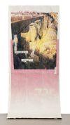 Alex Dordoy. Further, not even to remember, 2012. Toner and oil on Jesmonite. 190 x 90 x 45 cm. AD.HD, 2012. Christian Andersen, Copenhagen