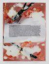 Lucie Stahl. Draconian Timing, 2011. Inkjet print, polyurethane Approx. 116 x 87 cm. Courtesy Dependence, Bruxelles. The Village Gossip Meets the Newspaper Photoroman, 2011. Christian Andersen, Copenhagen