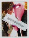 Lucie Stahl. Prejudices, 2011. Inkjet print, polyurethane Approx. 116 x 87 cm. Courtesy Dependence, Bruxelles. The Village Gossip Meets the Newspaper Photoroman, 2011. Christian Andersen, Copenhagen