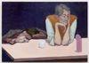 Li Ran. Nocturnes of the Artists Association, 2020. Oil on canvas. 70 x 100 cm. Out of Reach, 2021. Christian Andersen, Copenhagen