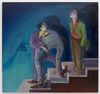 Li Ran. He Ain't Dead, Just Melancholic, 2020. Oil on canvas. 150 x 160 cm. Out of Reach, 2021. Christian Andersen, Copenhagen