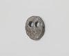 Sidsel Meineche Hansen. Hollow Eyed #4, 2017. Wax cast sculpture, silicone metal. 16 x 16 x 3 cm